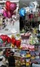 Balão Inflado com Gás Hélio (Monte um arranjo com quantos balões, modelos e cores quiser, aqui é o preço da cada balão cheio com gás hélio, ok)