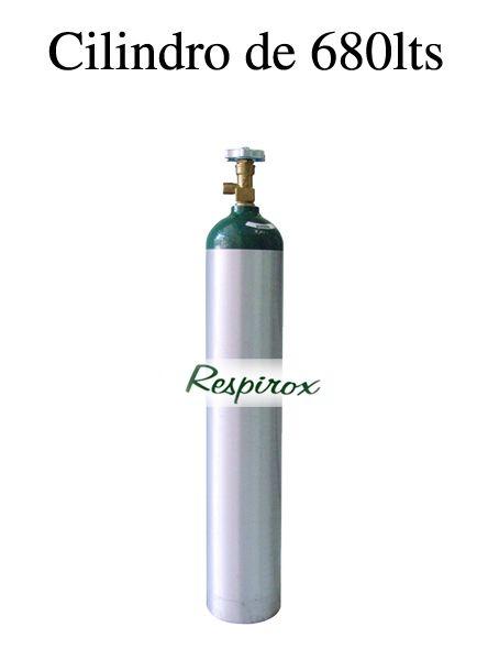 Cilindro de Oxigênio – 5 lts (alumínio)