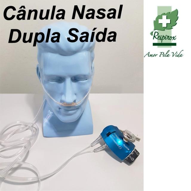 Cânula Nasal Dupla Demanda- Cod 4907 (Dupla Saída)