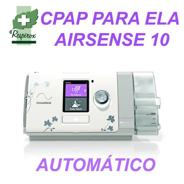 CPAP AIRSENSE 10 FOR HER (PARA ELA) AUTOMÁTICO