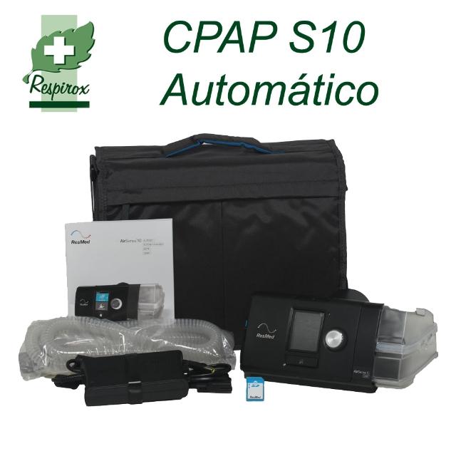 CPAP AIRSENSE 10 AUTOMATICO COM UMIDIFICADOR
