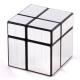 Cubo Mágico 2x2 - Prateado Irregular