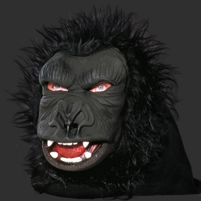 Máscara Gorila Macaco c/ Pelo