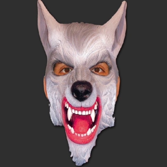 Máscara Lobo Bravo