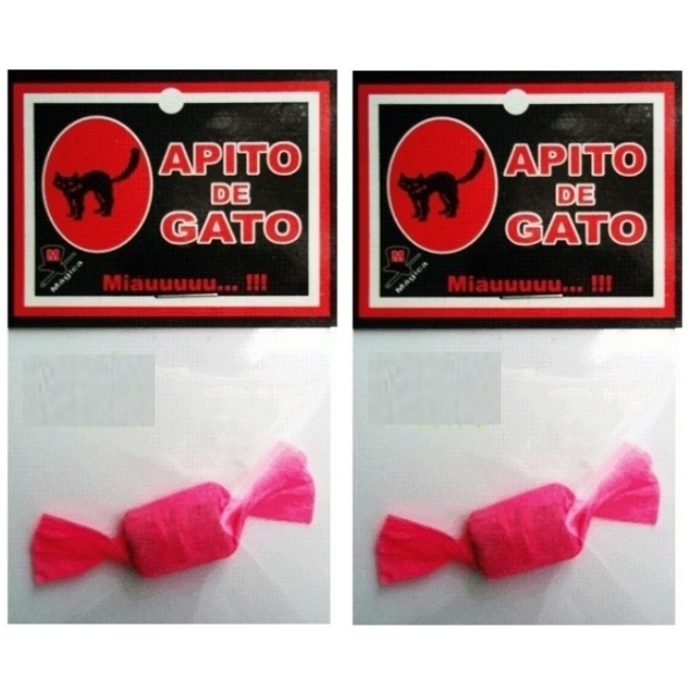 Apito do Gato Imita o Miado 2 und