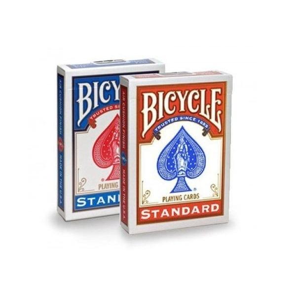 Baralho Bicycle Standard Vermelho + Azul