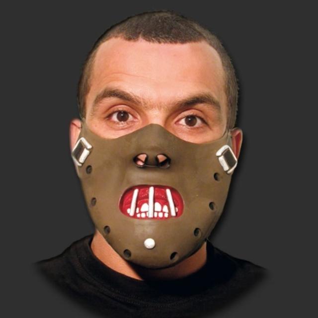 Máscara Hannibal Canibal