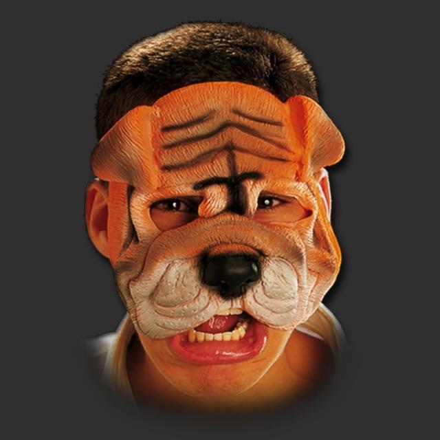 Máscara Cachorro Bulldog
