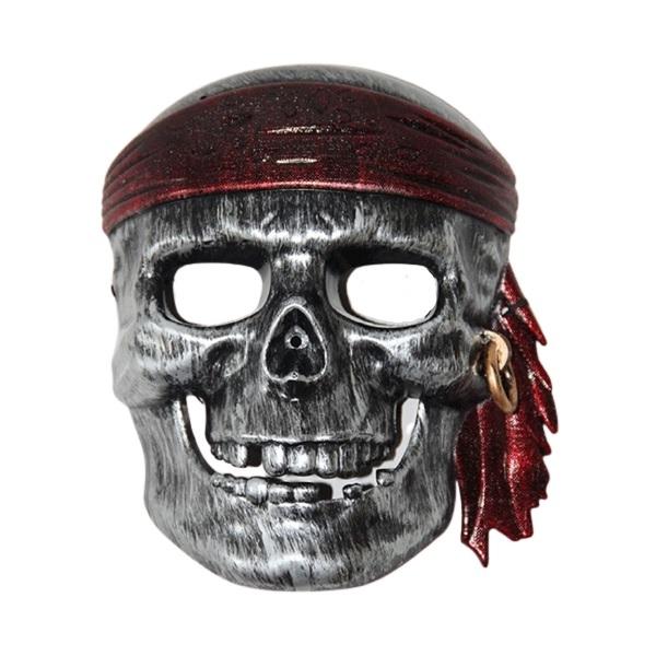 Máscara Caveira Pirata Infantil