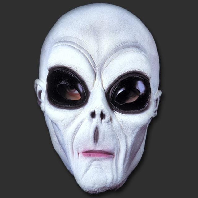 Máscara ET. Extra-Terrestre Marciano