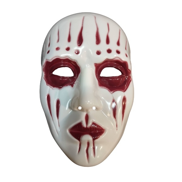 Máscara Joey Jordison (Slipknot) Vermelha