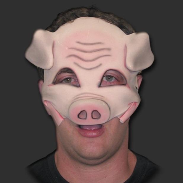 Máscara Porco Sorriso