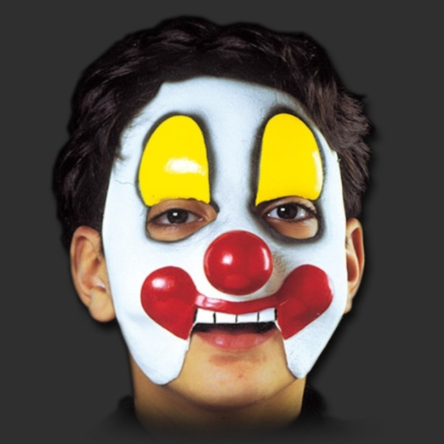 Máscara Palhaço infantil