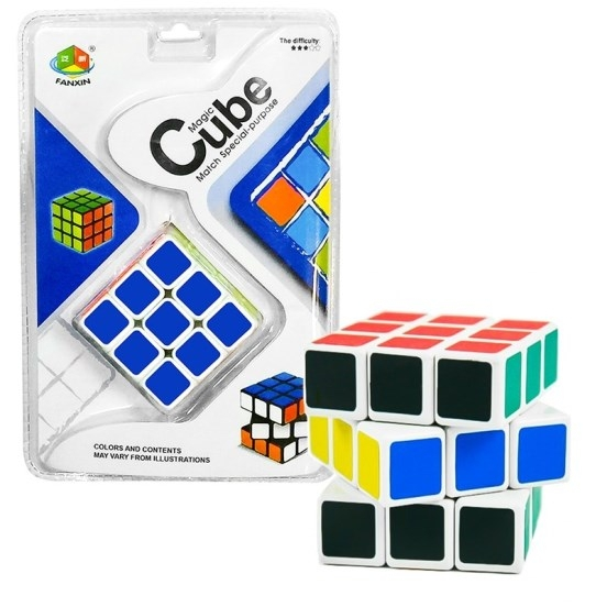 Cubo Mágico Profissional Fanxin Cartela