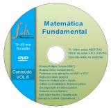 DVD Matemática Fundamental - vol.6 com 28min aulas exclusivas e 7h12 min aulas abertas