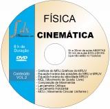 Dvd Física - Cinemática vol.2 - 30min aulas exclusivas(NÃO estão no YouTube) e 5h30min aulas abertas