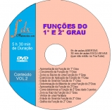 Dvd Função Vol.2 com 30min aulas exclusivas(NÃO estão no YouTube) e 5h aulas abertas