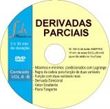 Dvd VOL.6-B - Derivadas parciais, Máximos e Mínimos Condicionados:15min de aulas exclusivas e 3h15min de aulas abertas