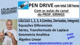 PEN DRIVE COM 140 HORAS DE AULA incluindo envio de tabelas de cálculo