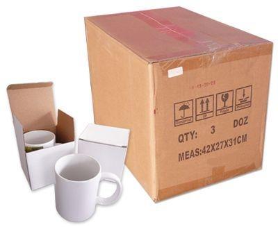 Caixa de Caneca Porcelana DEKO 36 unidades com caixinha - 340,00