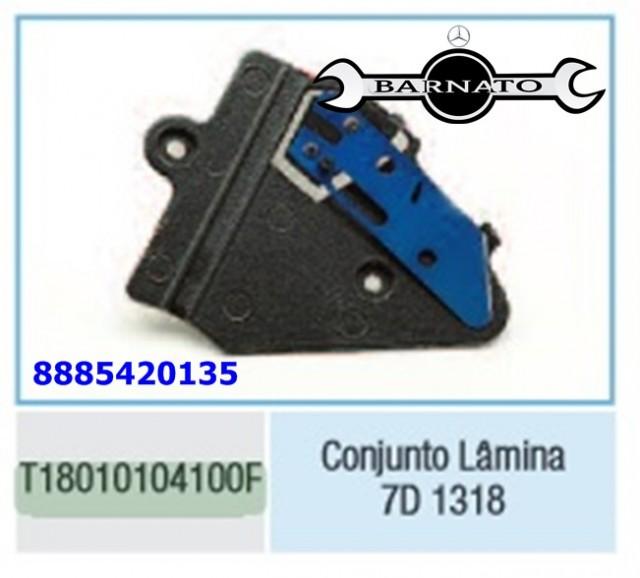 CONJUNTO DE LAMINA 7D 1318 ELETRONICO 8885420135