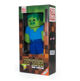 Boneco De Pelúcia Zr Toys Minecraft: Zombie