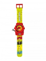 Angry Birds Relógio Lança Discos - FUN