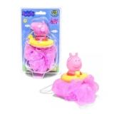 Esponja De Banho Infantil Peppa Pig Rosa - Dtc