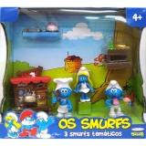 Bonecos Temáticos Smurfs - Padaria - Sunny