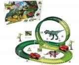 Dino Track Pista Autorama Dinossauro Rex 108pç  - Art Brink