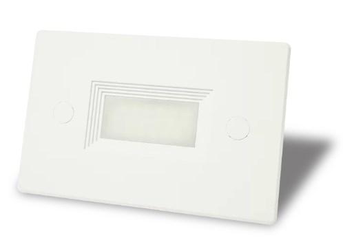 BALIZADOR LED EMBUTIR EXTERNO P/ CAIXA DE LUZ 4X2