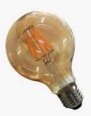 BULBO LED FILAMENTO 6W - G80