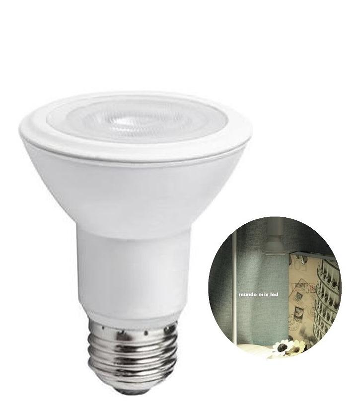 Lâmpada de Led COB Bivolt E-27 Par20 7w - Branca Frio 6500k