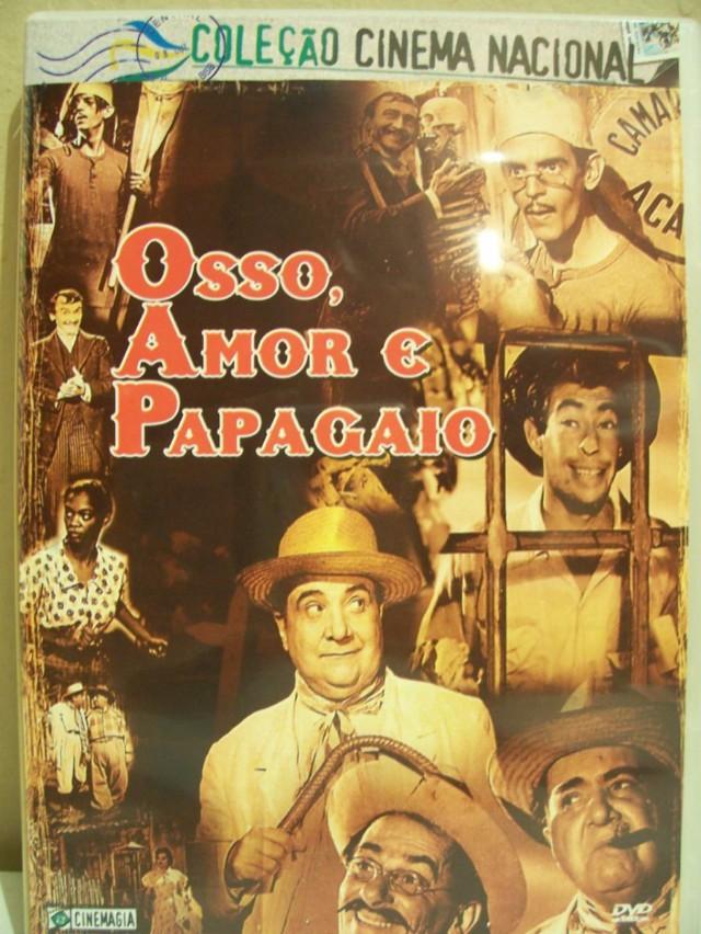 E170-OSSO, AMOR E PAPAGAIO - Osso, Amor E Papagaio - 1957 por R$5,00