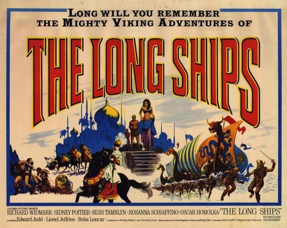 A148-OS LEGENDÁRIOS VIKINGS - The Long Ships - 1964 por R$5,00