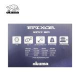 Molinete Epixor EPXT 30 Okuma 8 rolamentos Drag 8 kg