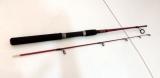Vara p/molinete Raider 1,35 m 2 partes 6/12 lb vermelha