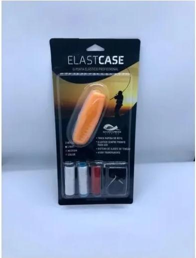 Kit Porta Elástico-elastricot P/ Pesca Elastcase