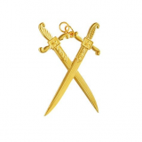 Joia Guarda do Templo ou Cobridor Interno Dourada