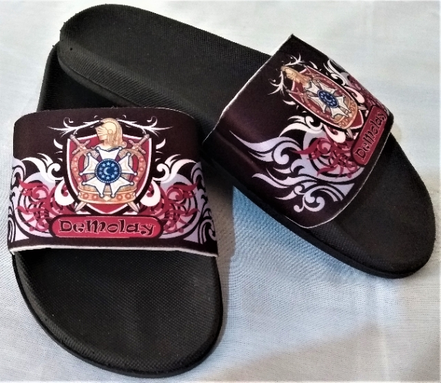 Chinelo Slide Demolay Preto