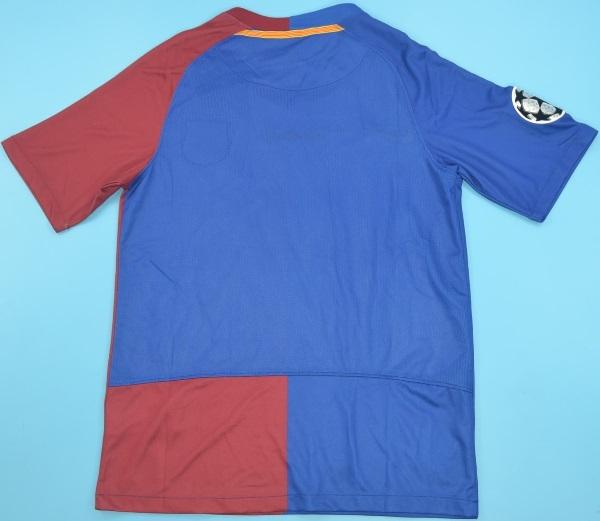 Camisa Retro Barcelona Espanha 2009 Final Champions League Uniforme 1 Por R 159 99