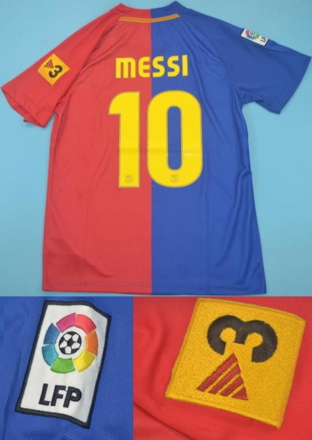 Camisa Retro Barcelona Espanha 2008 2009 Uniforme 1 Por R 159 99