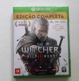 Jogo The Witcher 3 Xbox One Edição Completa  Português Novo