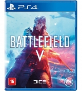 Jogo Mídia Física Battlefield V 5 Original Ps4 Novo Lacrado