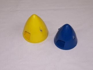 Spinner 2 1/4 amarelo de nylon
