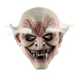 Máscara Látex Adulto Alta Qualidade Vampiro Velho Cabelo Ass