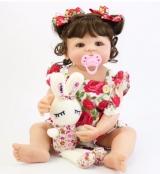 Bebê Reborn Sophia toda em Silicone com frete Grátis para todo Brasil