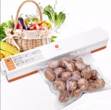 Seladora Vácuo Embaladora Alimentos + 15 Embalagens Tinton Temos 110v E 220v