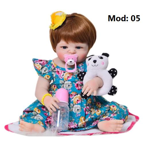 Bebê Reborn em Silicone com Frete Grátis 4 modelos