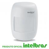 Sensor Infravermelho passivo com fio Intelbras Ivp3000  Alcance de 12m